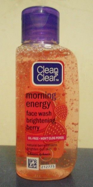 Clean And Clear Morning Energy Face Wash Brightening Berry Face Wash Face Products Skincare Best Facial Cleanser