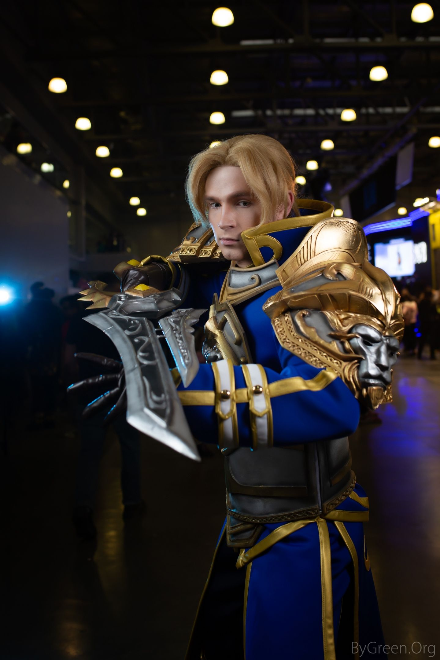 Anduin Wrynn Cosplay From Hots Heroes Of The Storm Cosplay World Of Warcraft