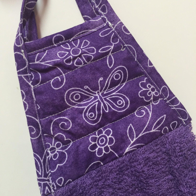 Butterfly Kitchen Towel,Purple Butterfly,Butterfly Decor,Butterfly Towel, Butterfly,hand