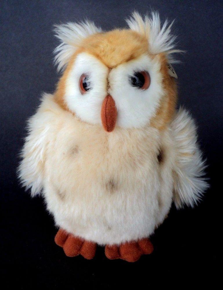 Screech Owl World Wildlife Fund Wwf 1986 Plush Stuffed Animal