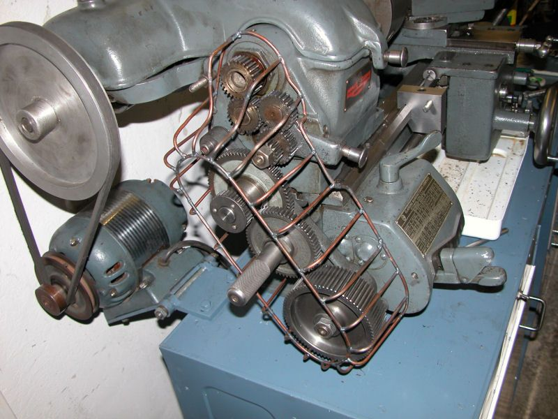 Clausing Model 111 Lathe Gear Train Shroud by DanLins - My