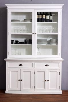 cool Fresh Kitchen Hutch Cabinets 58 On Home Remodel Ideas with ...