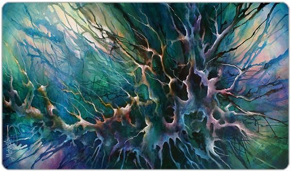 Max Play Mat Iconic Elemental All 5 Mana Premium Playmat MTG Force of Will