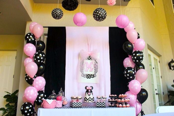 Minnie Mouse Birthday Party Ideas Minnie Birthday Party Minnie Mouse Birthday Minnie Mouse Birthday Party