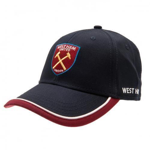 149db0d2401 West Ham United F.C. Cap TP. - adult baseball cap- two colour peak ...