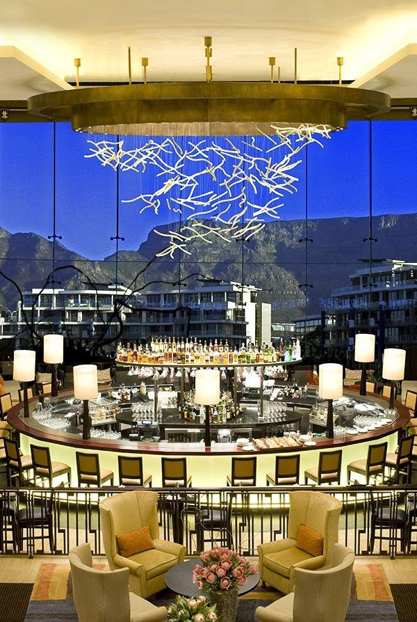 Vista Bar, One & Only Cape Town, South Africa. BelAfrique - your personal travel planner - www.BelAfrique.com
