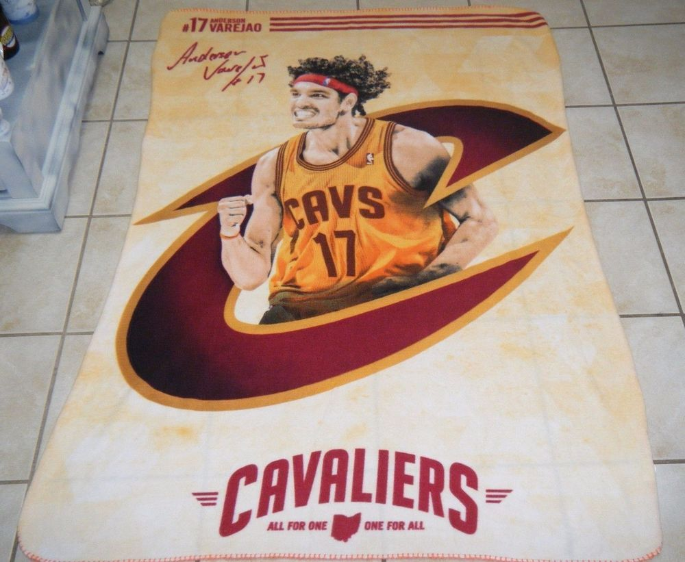 NBA Basketball Cleveland Cavaliers #17 ANDERSON VAREJAO Polyester ...