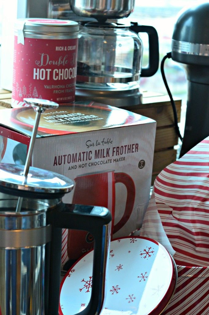 Nice Gift Ideas From Sur La Table: How Adorable Is This Automatic Milk Frother  And Hot
