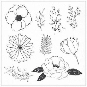 Photo of 30 Ideas flowers wreath drawing tattoo