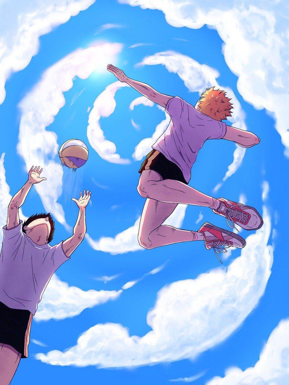 что, крутые рисунки про волейбол юмористические