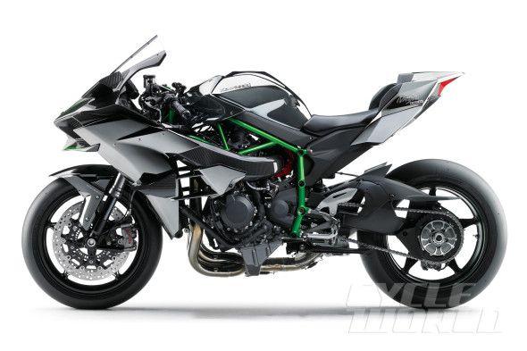 2015 Kawasaki Ninja H2R studio side view   2014 WORK ...