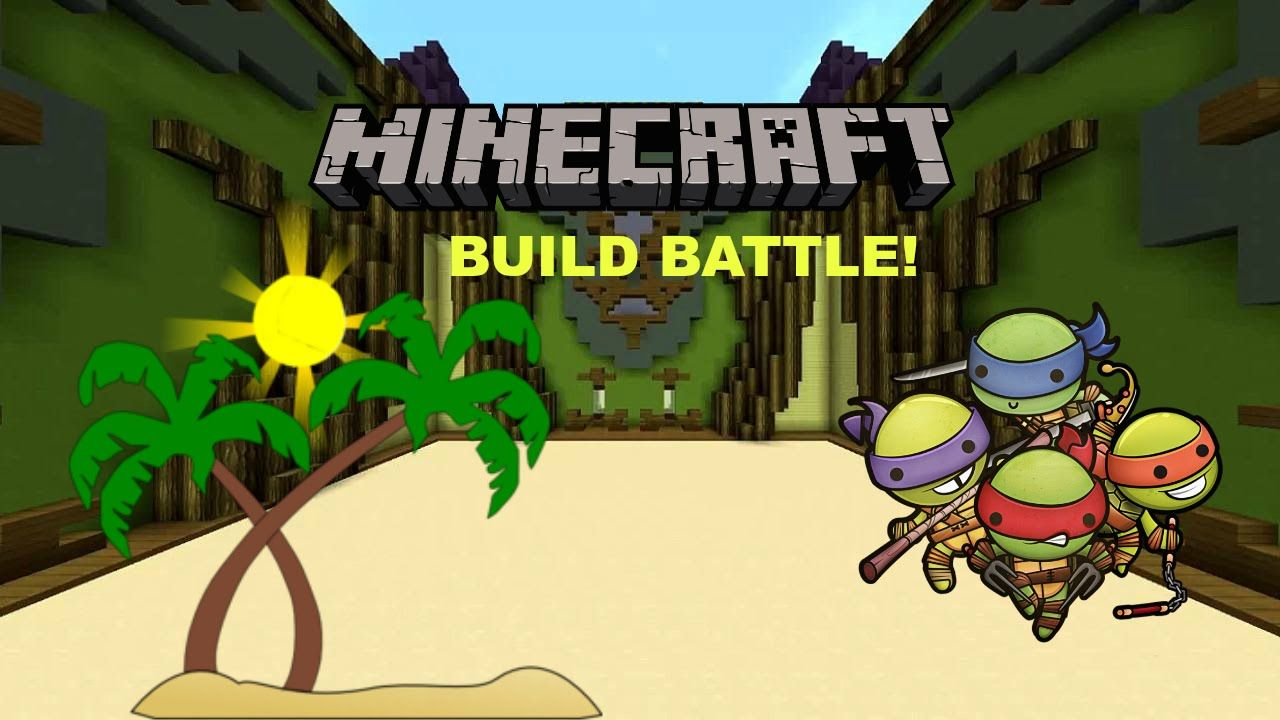 Ninja Turtles And Beaches Build Battle Videos Pinterest