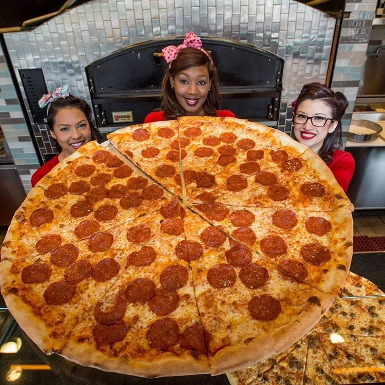 Pin-Up Pizza, Las Vegas, located inside Planet Hollywood, serves the