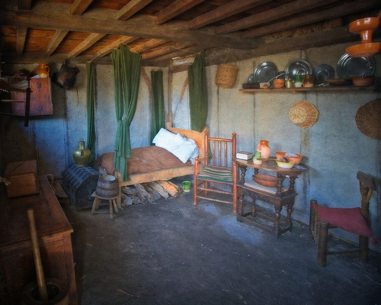 Inside A Pilgrim Home Plymouth Primitive Decorating