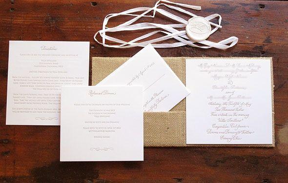 1000 images about Wedding Invitation Menu Card Inspiration on – Rustic Elegance Wedding Invitations