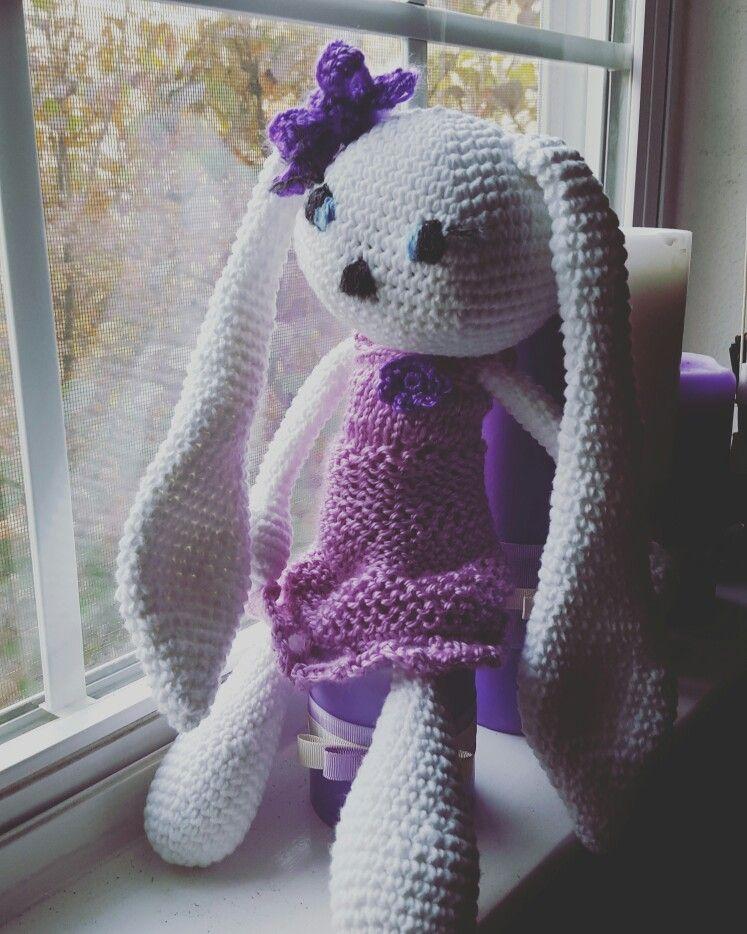 Amigurami bunny Sofie #crochet
