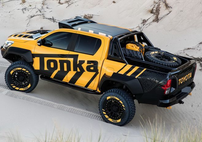 Toyota Concept Truck Diesel >> 2017 Toyota Hilux Tonka Concept Price Specs Pictures