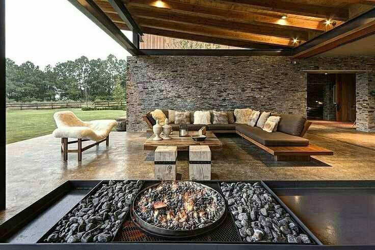 Great patio