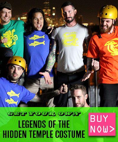 Buy your Legends of the Hidden Temple costume! easy breezy - team halloween costume ideas