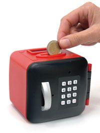 Salvadanaio con contatore digitale: per tenere il conto dei piccoli risparmi ;-) #dmail