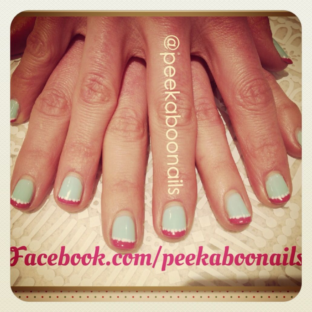 Nail Art Ideas nail art melbourne : Shellac dots nail art in Melbourne @peekaboonails Facebook.com ...