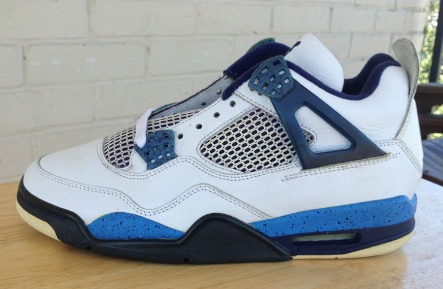 Air Jordan IV 4 Columbia Blue Speckle Sample (1999)  15d5eef081