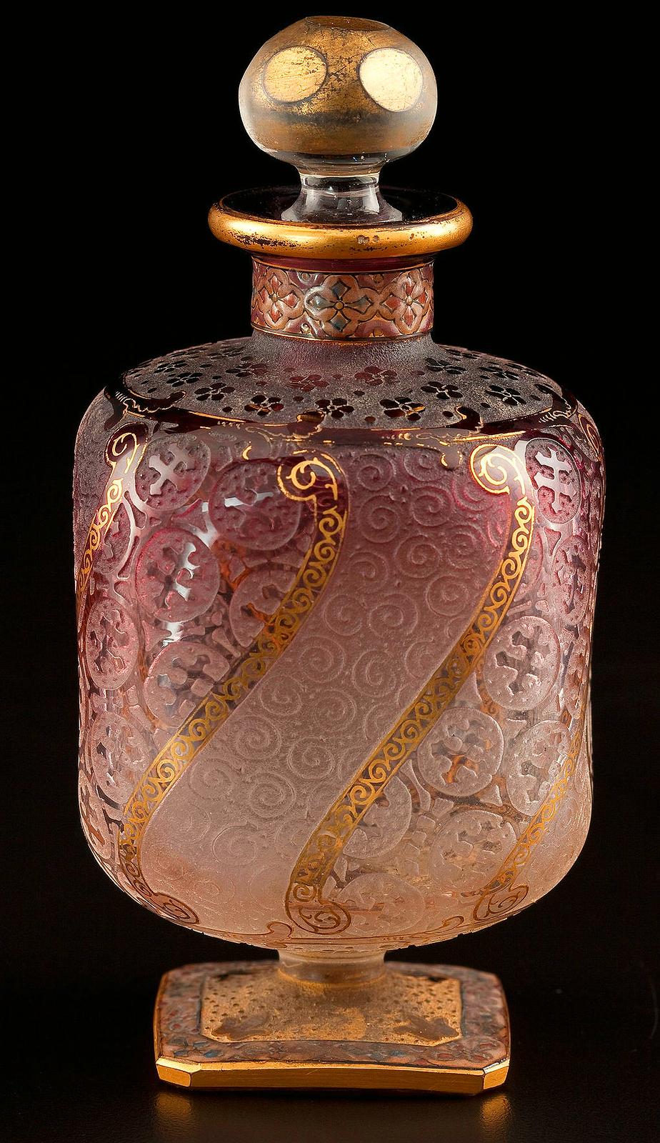 French perfume bottle, around Louis XIV time