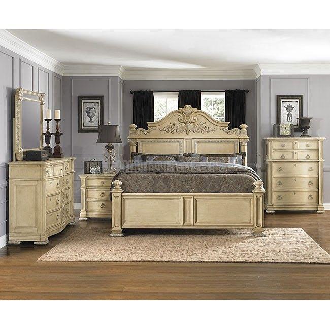 . Bellevue Panel Bedroom Set in 2019   Bedrooms   Bedroom furniture