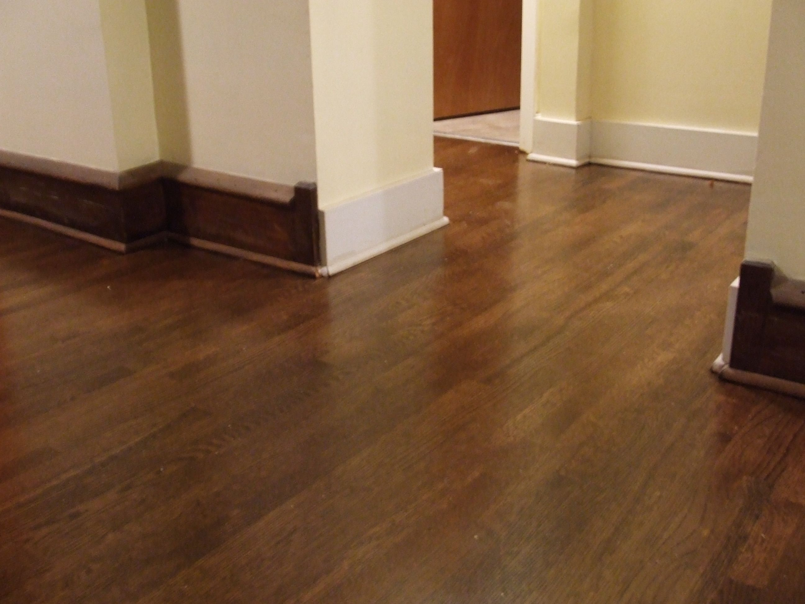 Using Wood Base Makes It Look Old Fashioned Reclaimed Hardwood Flooring Floor Refinishing