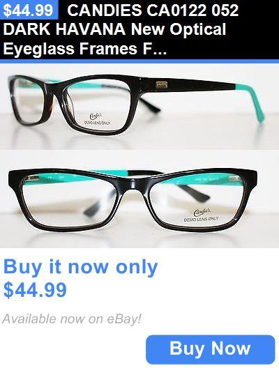 061780d8981c Eyeglass Frames  Candies Ca0122 052 Dark Havana New Optical Eyeglass Frames  For Women BUY IT NOW ONLY   44.99