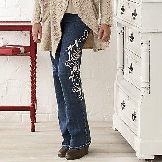 Fleur De Denim Jean from Through the Country Door®