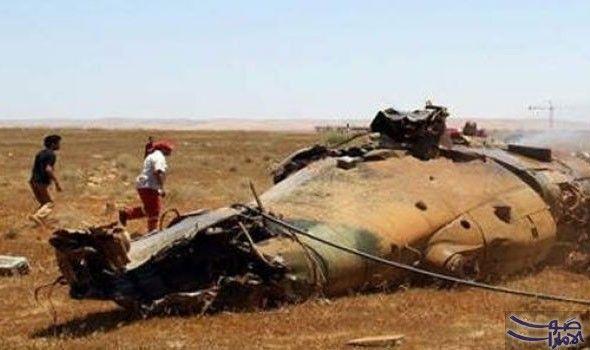 اسقاط مقاتلة تابعة لقوات خليفة حفتر في…: اسقاط مقاتلة تابعة لقوات خليفة حفتر في بنغازي اثناء مهمة ضد جهاديين