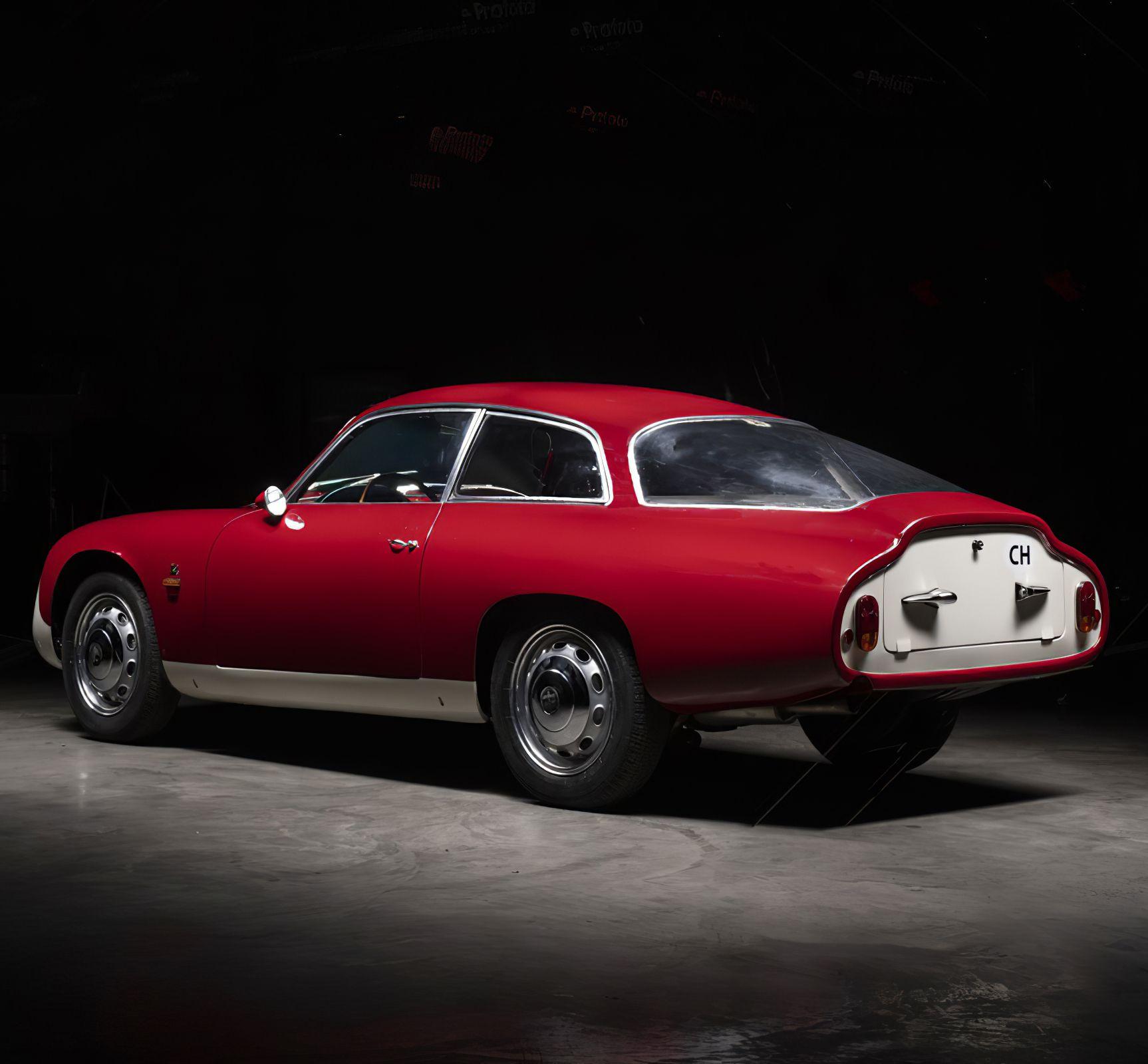 1962 Alfa Romeo Giulietta Sprint Zagato Coda Tronca (mit