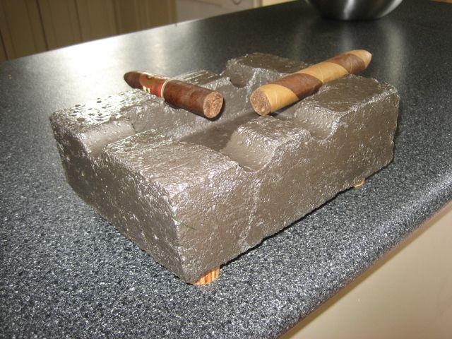 How To Make An Ashtray For 10 Cigar Ashtray Diy Ashtray Ash Trays