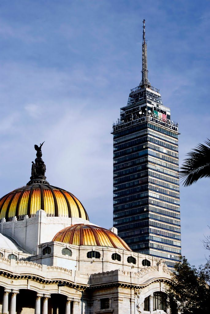 Resultado de imagen para bellas artes y torre latino