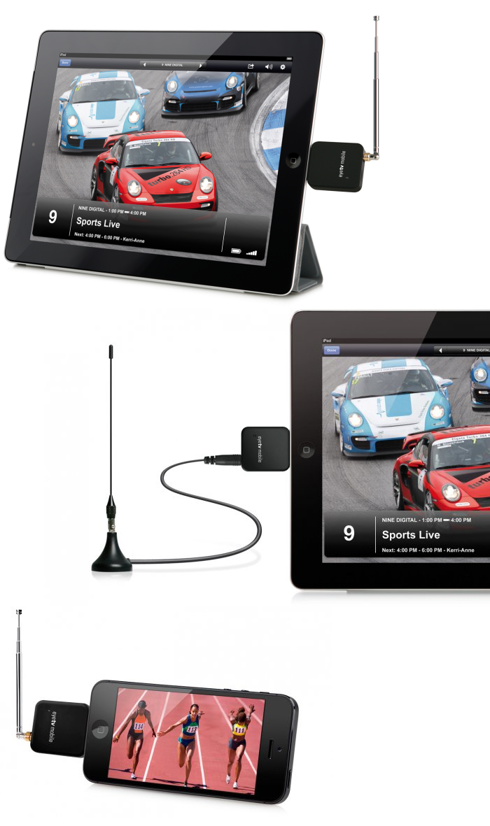 Watch live TV on your iPad and iPhone with EyeTV Mobile