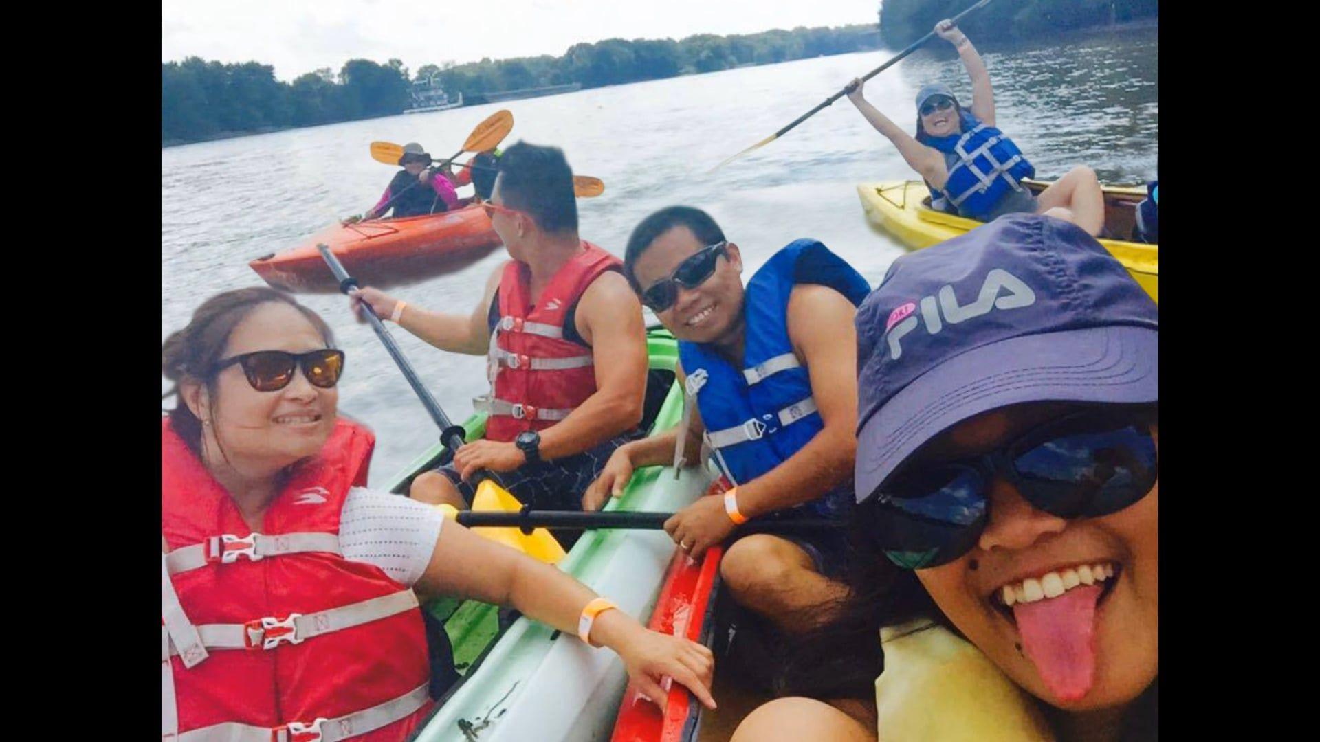 Photo of kayak morris kayaking camping