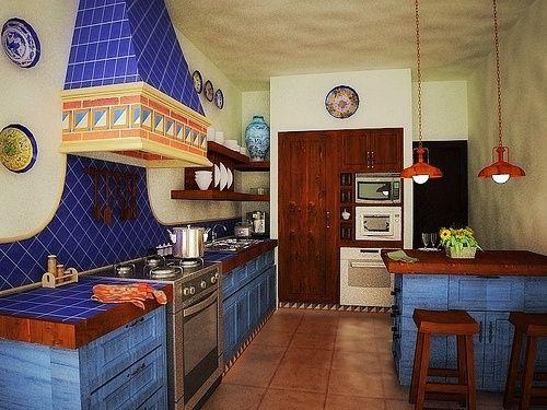 Image gallery interiores de casas mexicanas - Fotos de cocinas antiguas ...