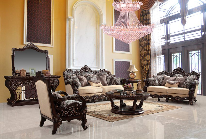 Somerville Luxury Living Room Set  Living Room  Pinterest Custom Luxury Living Rooms Furniture 2018
