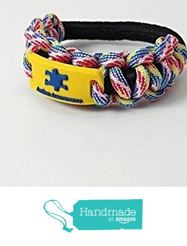 Autism Awareness Bracelet Multi Colored Paracord Medical Id Kids Wristband Stretch Men And Women From