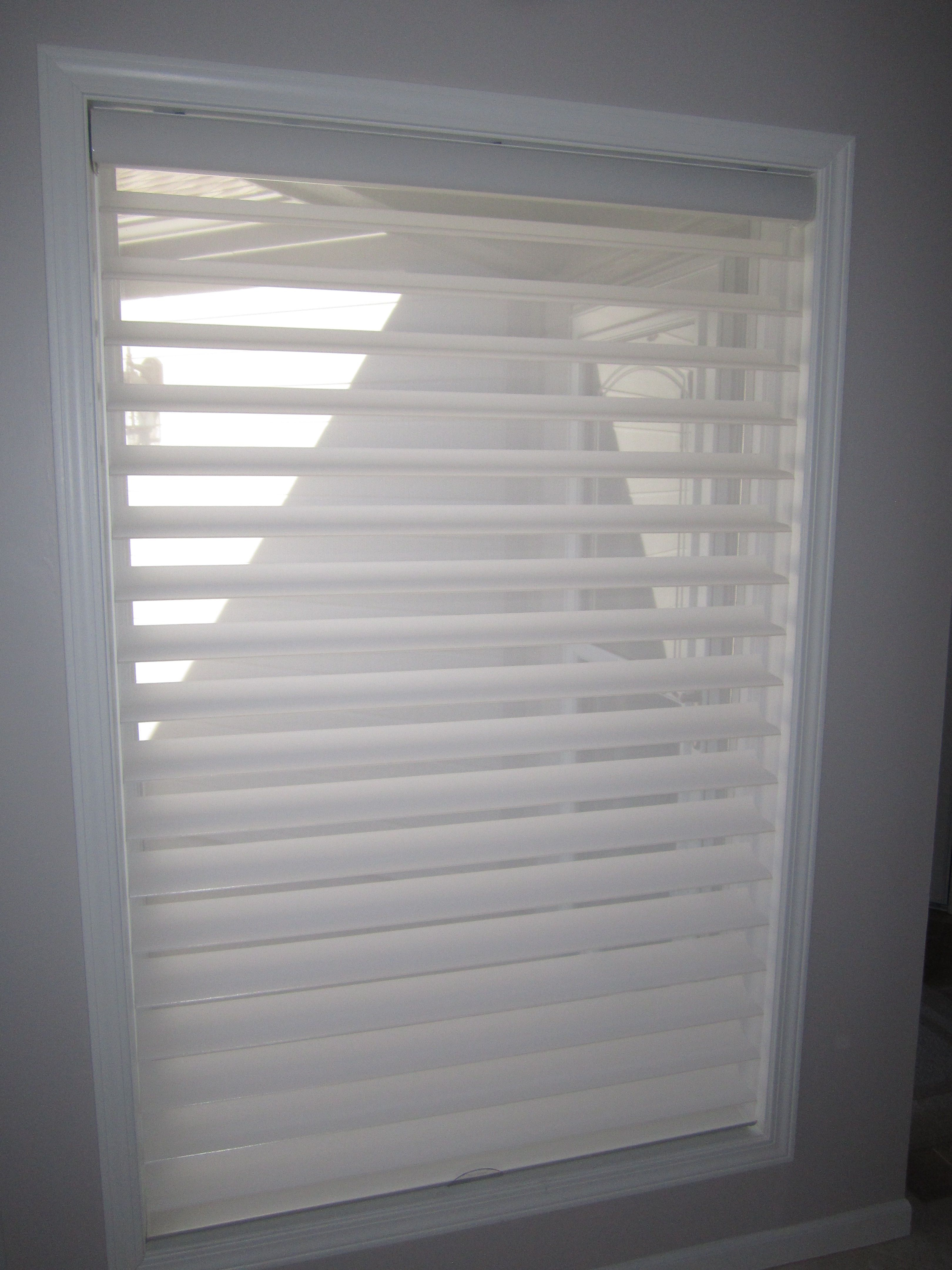 Zebra window coverings  silhouettes come in a variety of colors and different fabrics and
