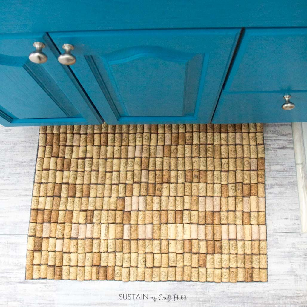 How To Make A Diy Wine Cork Bath Mat Wine Cork Projects Wine