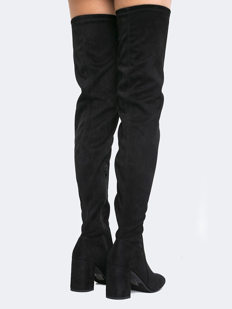 Thigh High Stretch Boot - ZOOSHOO