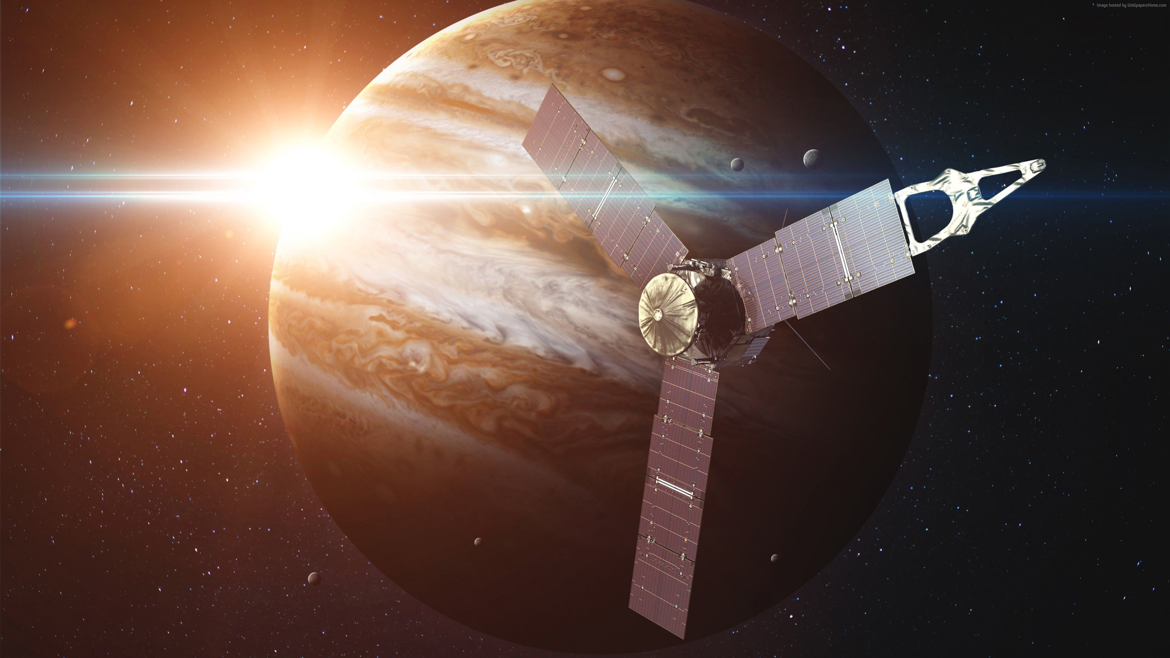 Wallpaper Jupiter Juno 4k Hd Nasa Space Photo Planet Art Space Http Www Wallpaperback Net Space W Jupiter Wallpaper Galaxy Planets Planets Wallpaper