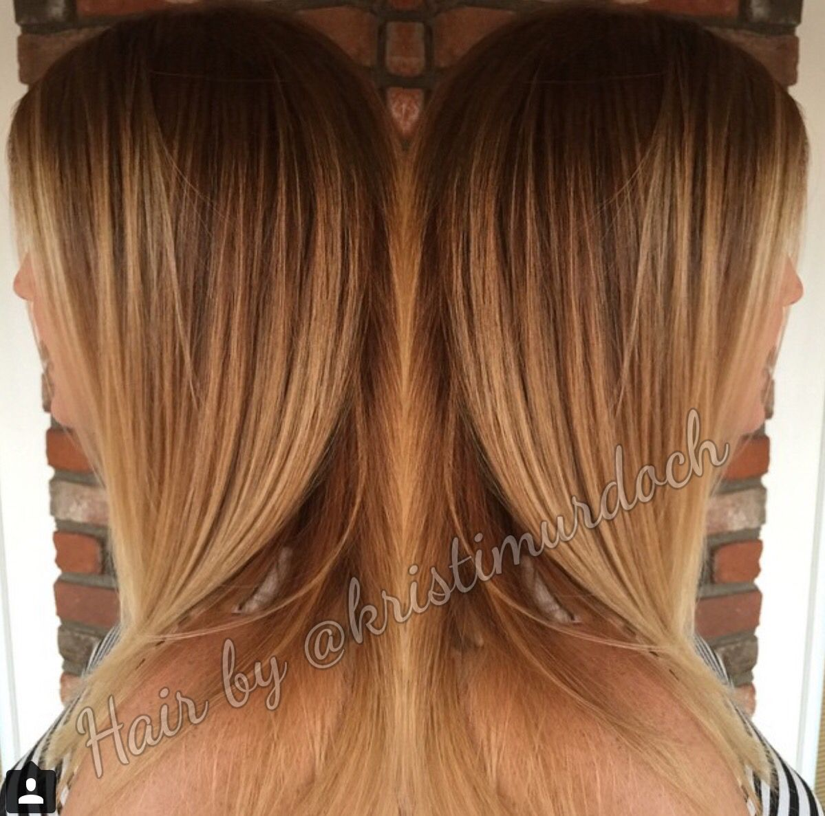 Balayage honey for Caramel blond