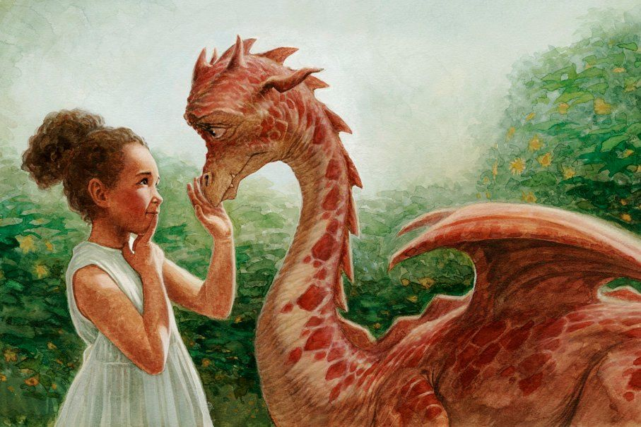 Ilustración: P. J. Lynch http://www.pjlynchgallery.com/