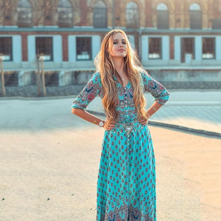 Boho Chic Long Maxi Dress Women Long Dresses Maxi Dresses Casual Casual Dresses For Women [ 900 x 900 Pixel ]