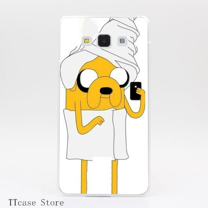 1928CA Jake With Bathrobe Adventure Time Transparent Hard Cover ...