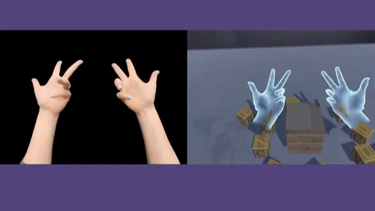 Oculus Claims Breakthrough in Handtracking Accuracy
