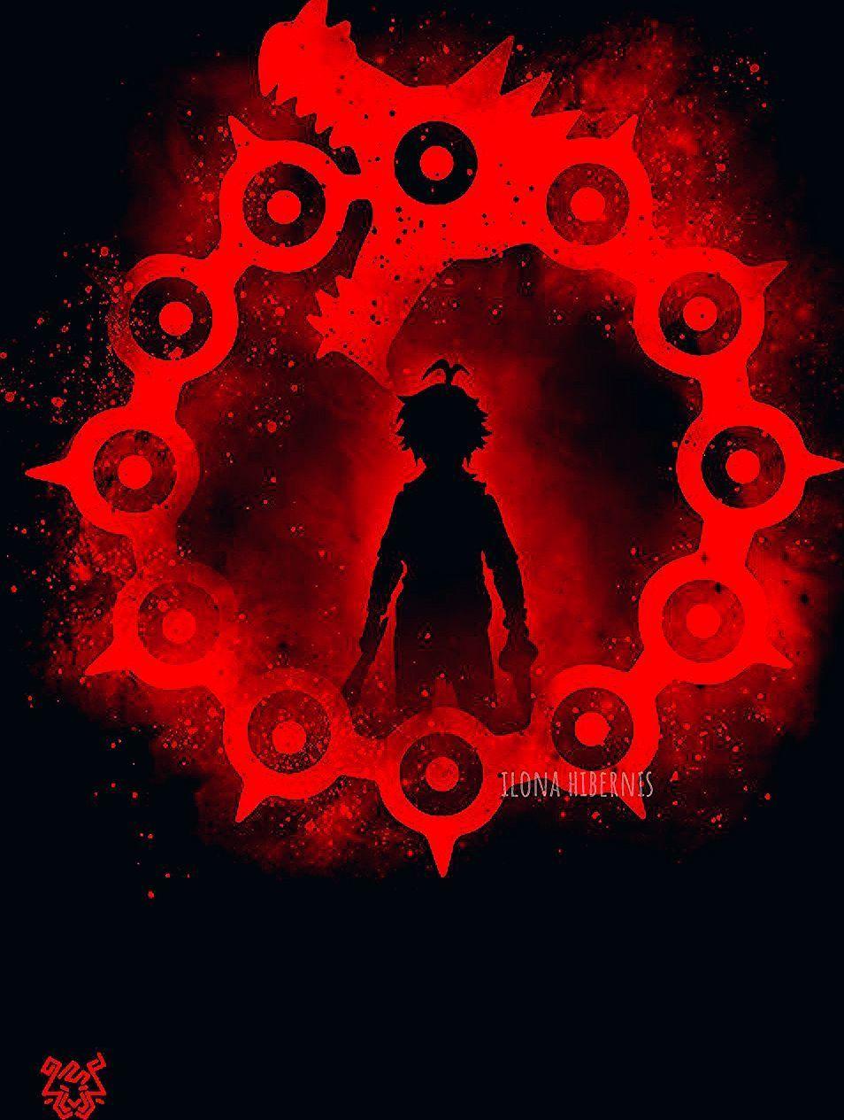 Design Inspired By The Seven Deadly Sins Sin Ilona Hibernis Dragon Wrath Power Anime Manga Sym Anime Wallpaper Seven Deadly Sins Anime Demon King Anime
